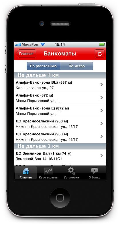 Дизайн приложения на айфон