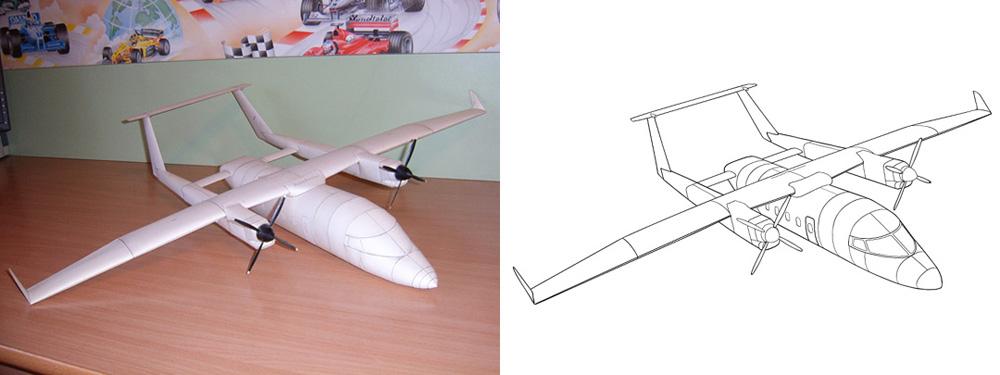 Как это сделать модель самолёта