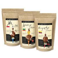 Моносорта кофе: Ява, Эфиопия, Колумбия