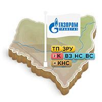 Карты филиалов «Газпром энерго»