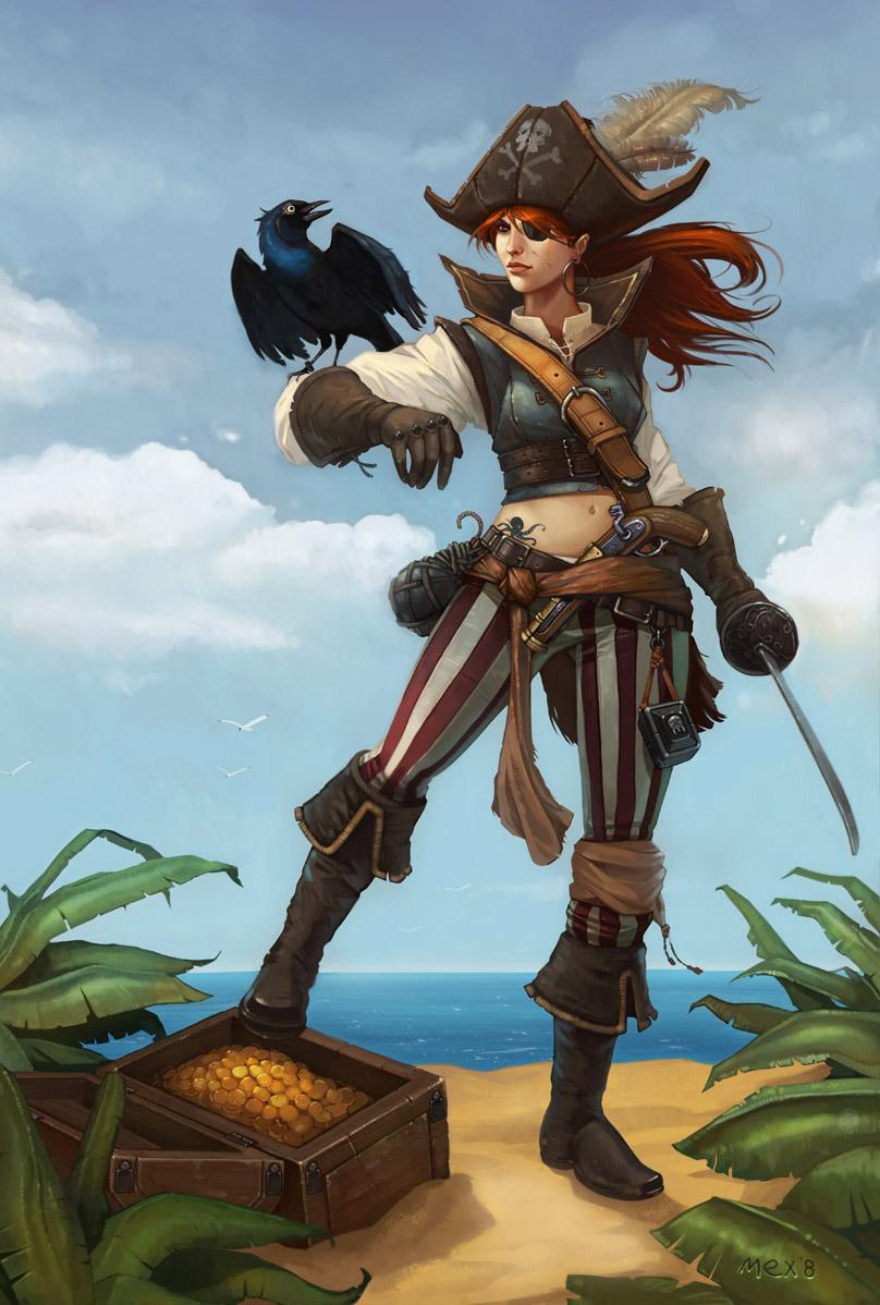 Pirate Girl Art | www.pixshark.com - Images Galleries With ...