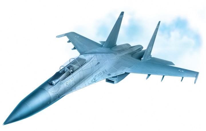 фото самолета су-27