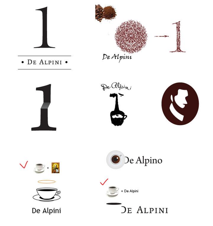 эскизы логотипов: