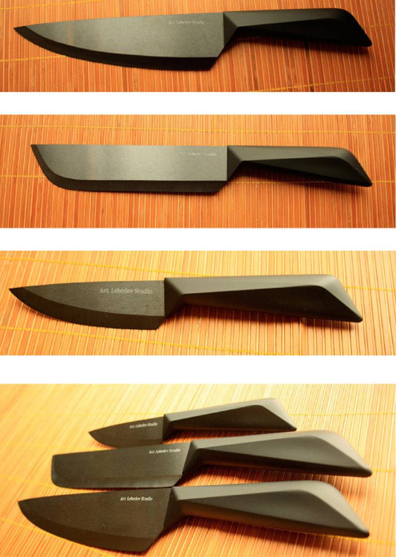 Как делают дизайн ножа
