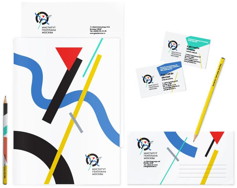 Как создавался логотип и фирменный стиль Института Генплана Москвы