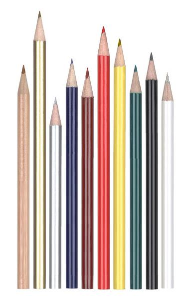 Картинки карандашей разной длины