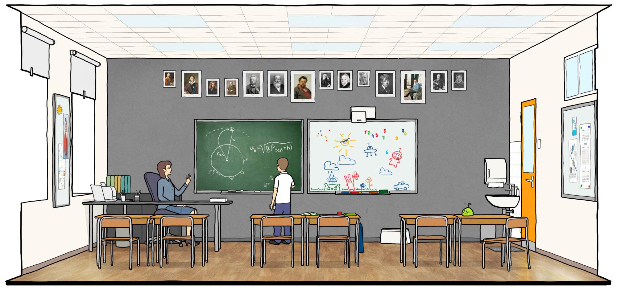 Emory College Classroom Design Guide ~ Руководство по оформлению школ